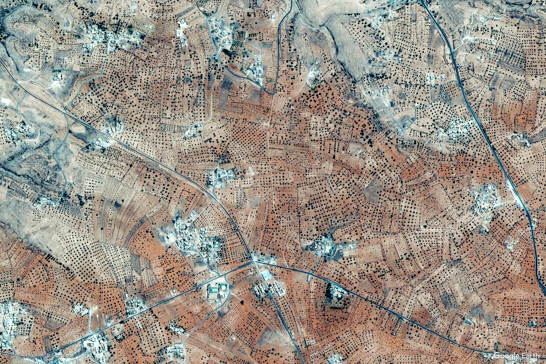 Ġaryān Libya Earth View From Google - Google maps earth view